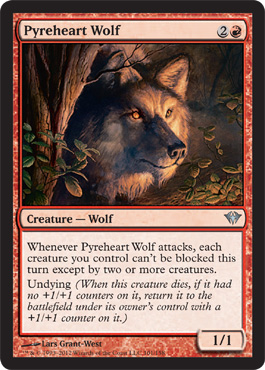 Pyreheart Wolf