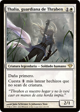 Thalia, Guardian of Thraben