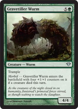 Gravetiller Wurm