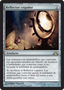 Reflector cegador