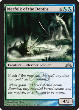Merfolk of the Depths