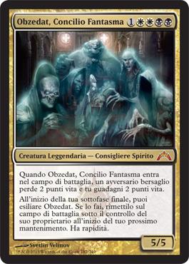 Obzedat, Concilio Fantasma