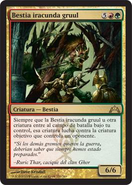 Bestia iracunda gruul