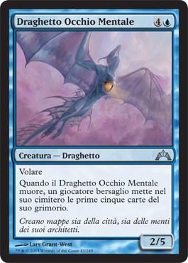 Draghetto Occhio Mentale