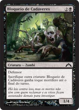 Bloqueio de Cadáveres