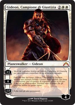 Gideon, Campione di Giustizia