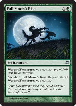 Full Moon's Rise