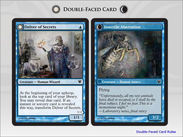 Delver of Secrets (Insectile Aberration)