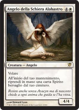 Angel of Flight Alabaster