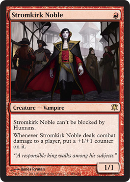 Stromkirk Noble - New Card Discussion - The Rumor Mill