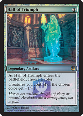 0162 MTGJOU PRM Heros Path EN FF MTG Journey Into Nyx Gameday Tournaments, Saturday May 24