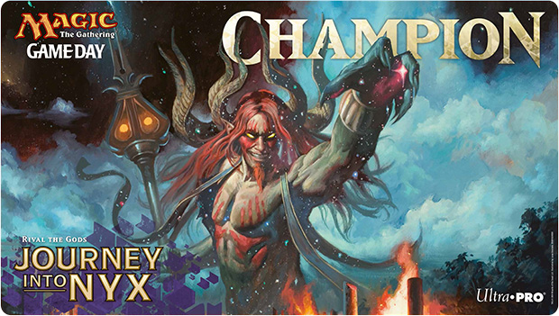 350 B11228 001 EN lr MTG Journey Into Nyx Gameday Tournaments, Saturday May 24