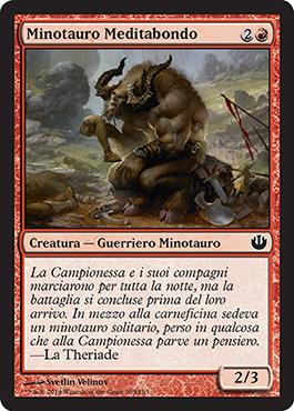 Pensive Minotaur