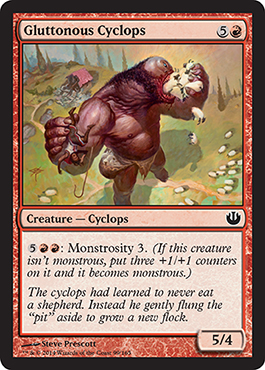 Gluttonous Cyclops