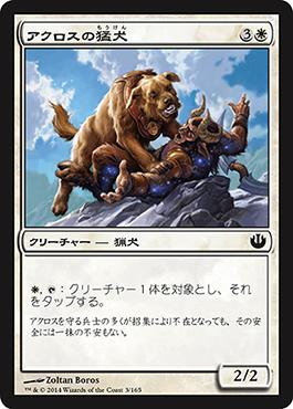 アクロスの猛犬