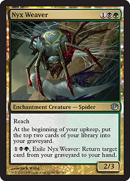 Jou Nyx Weaver New Card Discussion The Rumor Mill