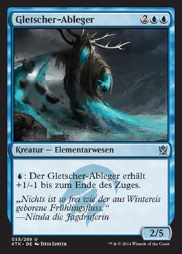 Gletscher-Ableger