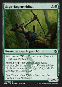 Sagu-Bogenschütze