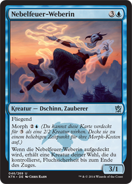 Nebelfeuer-Weberin