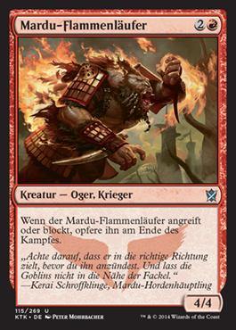 Mardu-Flammenläufer