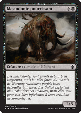 Mastodonte pourrissant