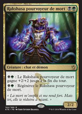 Rakshasa pourvoyeur de mort