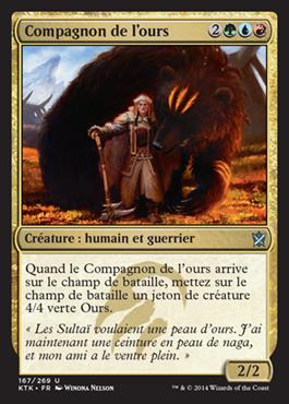 Compagnon de l'ours