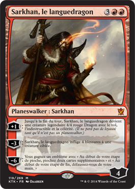 Sarkhan, le languedragon
