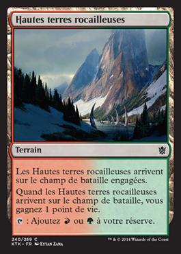 Hautes terres rocailleuses