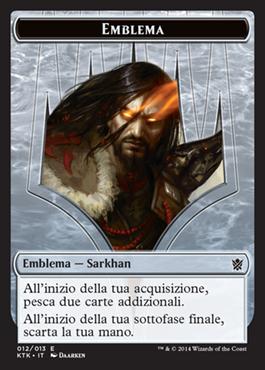 Emblema / Emblem Sarkhan