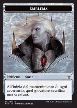 Emblema / Emblem Sorin