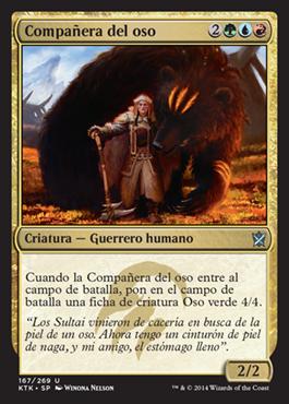 Compañera del oso