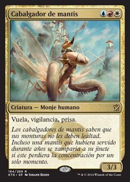 Cabalgador de mantis