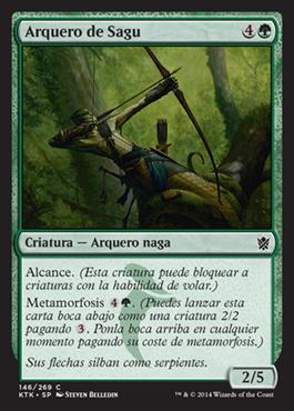 Arquero de Sagu