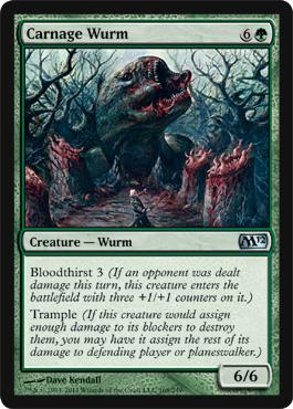 Carnage Wurm