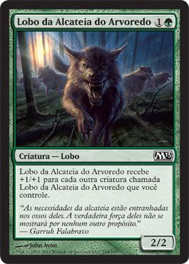 Lobo da Alcateia do Arvoredo