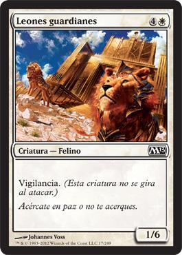Leones guardianes