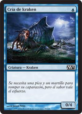 Cría de kraken
