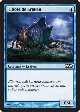 Filhote de Kraken