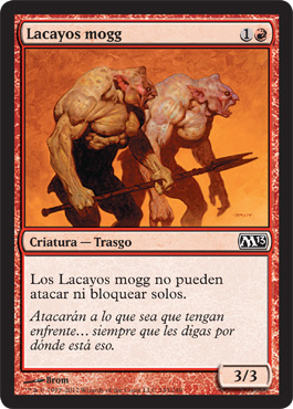 Lacayos mogg