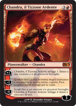 Chandra, il Tizzone Ardente