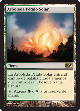 Arboleda Pétalo Solar