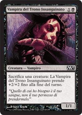 Vampira del Trono Insanguinato