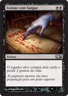 Assinar com Sangue