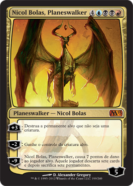Nicol Bolas, Planeswalker