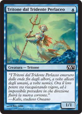 Tritone dal Tridente Perlaceo