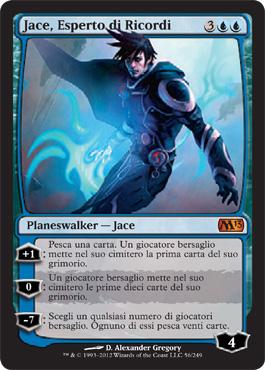 Jace, Esperto di Ricordi