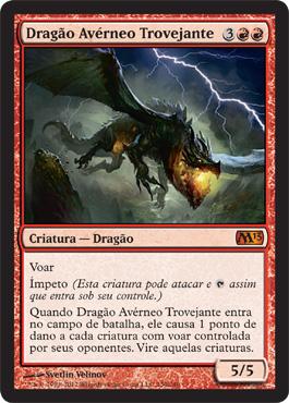 Dragão Avérneo Trovejante