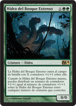 Hidra del Bosque Extenso