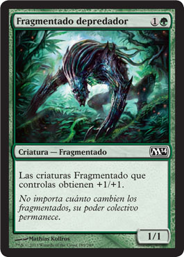 Fragmentado depredador
